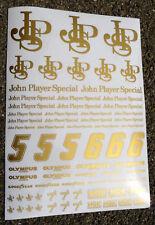 RC ' JPS ' doré style NASCAR mouvement 1/10th autocollants décalques