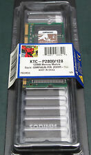 Kingston KTC-P2800/128 (128 MB, DDR RAM, 266 MHz, SO DIMM 200-pin)
