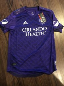 Orlando City MLS Home Jersey Size Men's M Adidas NWT