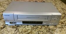 TOSHIBA VCR VHS PLAYER 4 HEAD W525 ☆Tested and working☆ No Remote.