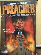 Preacher Gone to Texas Vol 1 Ennis and Dillon 1999 TPB High-Grade