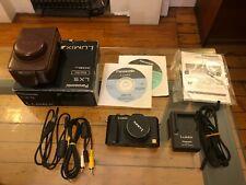 Panasonic LUMIX DMC-LX5 Digital Camera, near mint! Black, with accessories