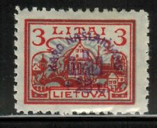 Lithuania #B13 1924 MH
