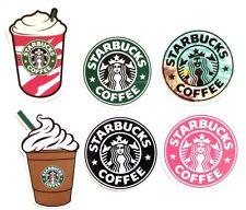 Starbucks Coffee Brand Logo Car Skateboard Luggage Computer Decal Stickers Set