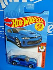 Hot Wheels New For 2019 Muscle Mania #71 '18 COPO Camaro SS Blue HW 50TH