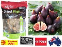 2kg Absolute Organic Certified Organic Dried Figs (2x1kg Bag) Quality Health