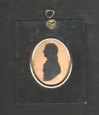 19th CENTURY SILHOUETTE PORTRAIT of  FIRST CONSUL BONAPARTE