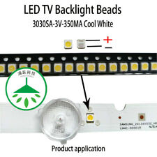 100pcs new 3V for lcd tv repair led tv backlight strip light-diode 3030 1w smd
