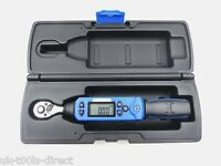 "LOW RANGE DIGITAL TORQUE WRENCH 1/4"" DRIVE 6-30Nm 4.4-22.1 ft-lbs Calibrated"