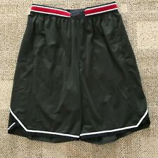 Nike VaporKnit Mens Basketball Shorts Sequoia/Black Size Medium M 925795-355