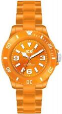 Ice Classic Solid Orange Dial Plastic Strap Unisex Watch CSOEUP10