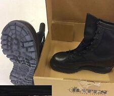 NEW Bates Wolverine Gore-tex Women 8.5W Waterproof Black Boots