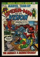 Marvel Team-up #5 NM 9.4 White Pages
