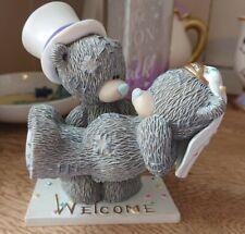 "Me To You Tatty Teddy figurine ""Over the Threshold"" 2004. Wedding. VGC."