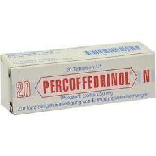 PERCOFFEDRINOL N 50 mg Tabletten 20 St PZN 2756794