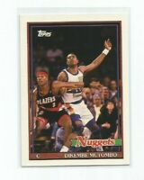 DIKEMBE MUTOMBO (Denver Nuggets) 1992-93 TOPPS ARCHIVES CARD #146