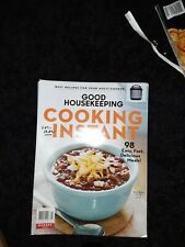 GOOD HOUSEKEEPING MAGAZINE,  COOKING IN AN INSTANT   SPECIAL,