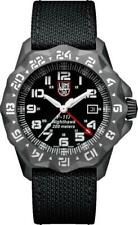 Luminox F-117 NightHawk GMT ST Steel Black dial Fabric Strap Men Watch XA.6421