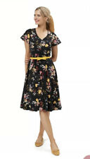 Review Allure Floral Dress - 14 - BRAND NEW - BNWT - Fit And Flare - RRP $249.95