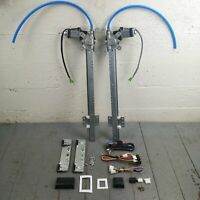 1959-74 Ford Galaxie Power Window Kit project door panel w/switches 12v