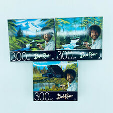 3 Bob Ross Painting 300 Piece Jigsaw Puzzles Landscape Scenes Nature New