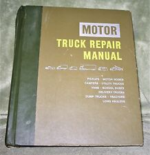 MOTOR Truck Repair Manual 1976 29th Edition ~ Many Truck Types ~ 1st Printing