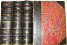 LEATHER Set;Works WILLIAM SHAKESPEARE!(MASSIVE BOOKS!)ca.1880 Antiquarian RARE!