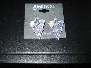 Minnesota Vikings   Siskiyou Dangle Earrings