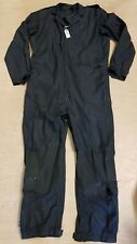 Genuine UKSF SAS RAF Black Flight Pilot Suit Dale Techniche Nomex Coveralls #2