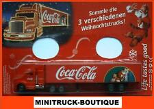 Coca Cola - Santa Claus with child / US Mack truck, Scale 1:90