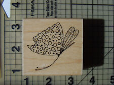 "Penny Black New Wood Mounted Rubber stamps ""Bohemian"" Butterfly Repeat stamp"
