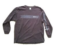 Vintage garbage Tshirt 90s 2001 Faded Distressed Long Sleeve size XL