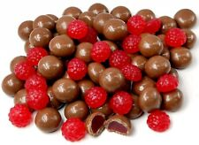 Milk Chocolate Raspberries 1kg Bulk Candy Buffet Party Birthday FREE POSTAGE