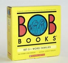 BOB Books Set 3: Word Families: By Maslen, J., Maslen, John