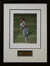 Australian Cricket Great Jeff Thomson signed photo Framed