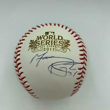 Marc Rzepczynski Signed Official 2011 World Series Baseball St Louis Cardinals