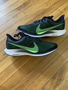 Nike Zoom Pegasus 35 Turbo Running Shoes AJ4114-004 Green Black Men's Size 11