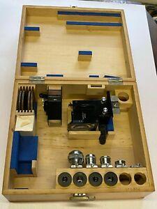 Reichert Austria Neupolar F=100 & F=50mm Objektive Kasten Mikroskopzubehör RARR