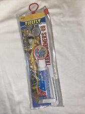 Firefly Transformers Toothbrush Kids Oral Care Travel Kit Bumblebee And Optimus