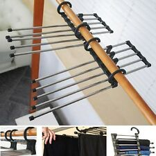 Trousers Pants Closet Hanger Multi-function Retractable Closet 5in1 Practical
