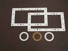 HYDROTOOLS ABOVE GROUND POOL WIDE MOUTH SKIMMER AND RETURN GASKET KIT FREE SHIP