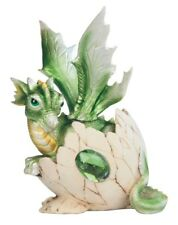 """Baby Birthstone Dragon Egg For August 5"""" Poly Resin, Fantasy Collectible"""