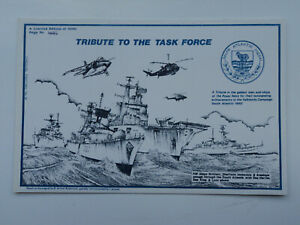 Art PC Tribute to the Task Force, Falklands Campaign 1982. Navy, Air force.