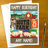 SOUTH PARK Personalised Birthday Card - kenny stan kyle personalized southpark