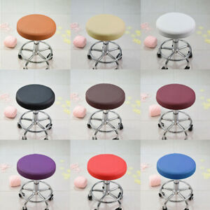 13 inches Dia Bar Stool Covers Round Chair Seat Cover Cushions Slipcover