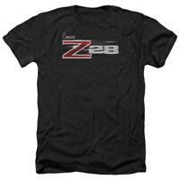 Chevrolet Z28 LOGO Licensed Adult Heather T-Shirt All Sizes