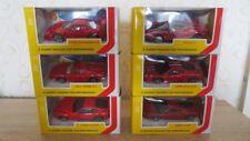 Lot Ferrari Burago 1/43 Shell 6 Models