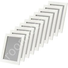 10 Stück Set IKEA FISKBO 21x30cm Fotorahmen Bilderrahmen Weiß (DIN A4) Neu