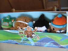 Olympic 2010 Vancouver Official Mascot and Sidekick Collectors Set- Plush NRFB