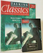 Dracula (Audio Cassette,1995) & Magazine By Bram Stoker Reader Anthony Valentine